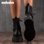 Боти с ефект чорап Matrix